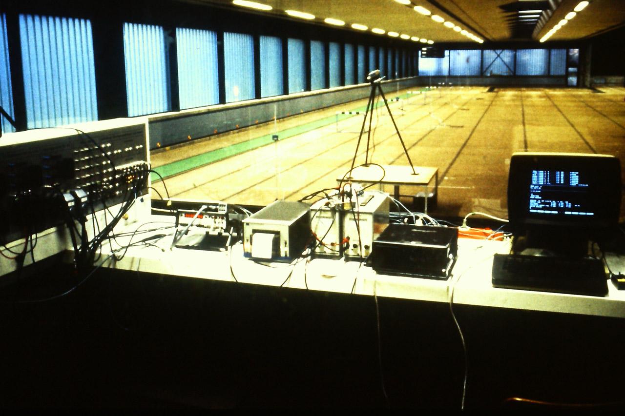 1981 DSHS Köln Hürdenmessung