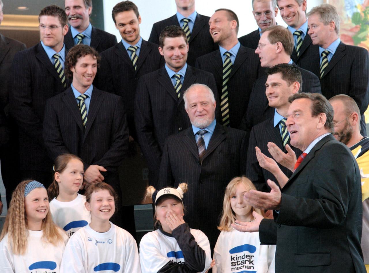 2004 Empfang der Europameister in Berlin