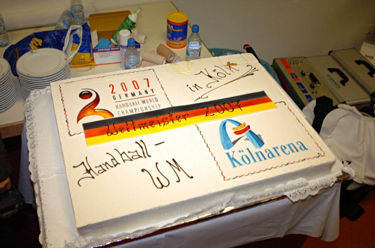 2007 für den Handball-Weltmeister