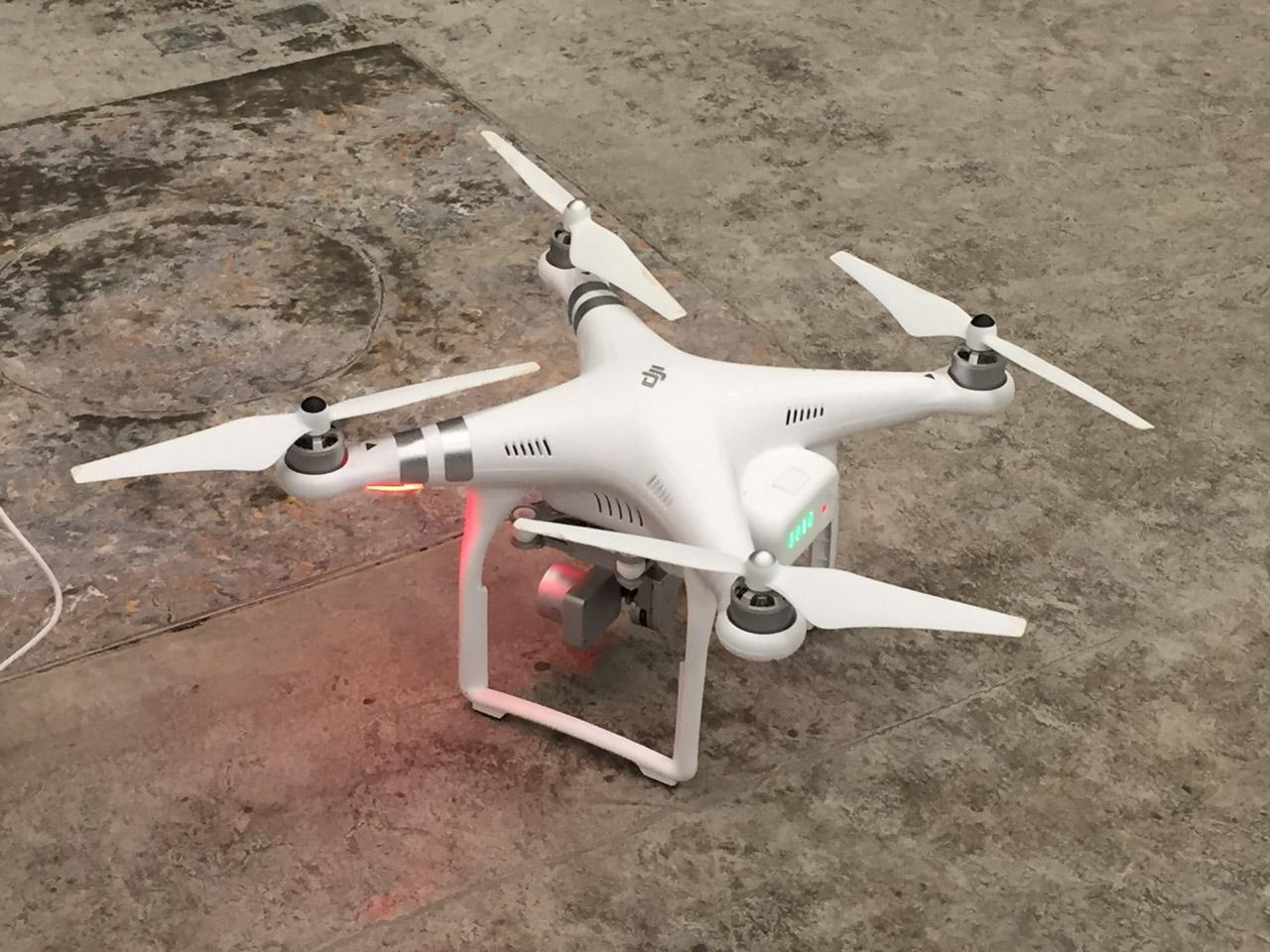2018 Drohneneinsatz mit 4k-Kamera