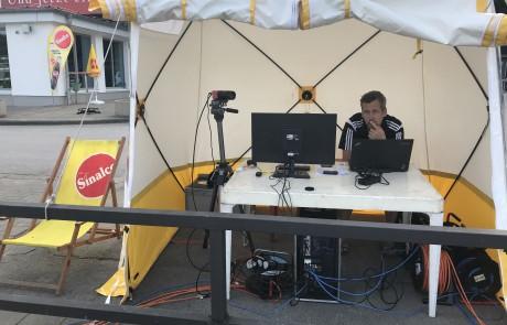 2018 Kanu-Weltcup Zwischenzeitmessung